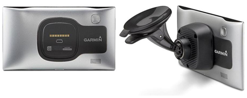 Behind the Garmin nuvi 3597LMTHD