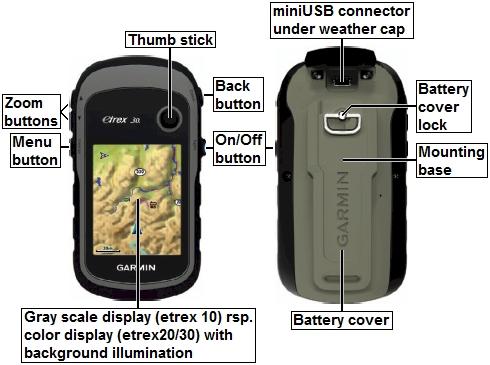 Garmin eTrex30 Handheld GPS