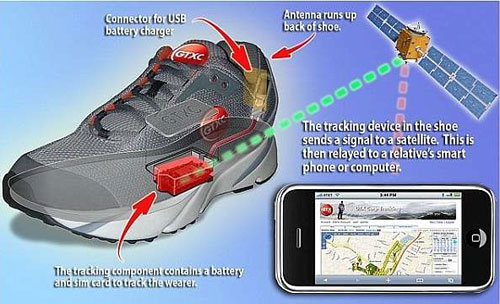 Aetrex Navistar GPS Shoes